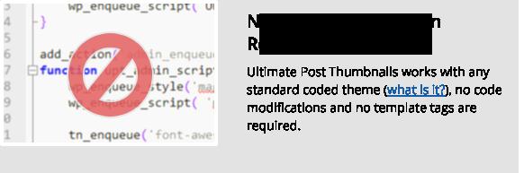 функ Остаточний повідомлення Thumbnalls працює з будь-якими стандартними закодовані тема itfl зміни коду і noternplatetags потрібно.
